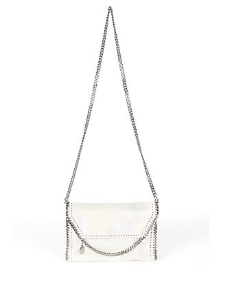 STELLA MCCARTNEY Mini Falabella Shoulder Bag Women's White