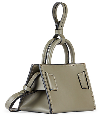 BOYY Bobby Charm Leather Bag With Strap Women's Green