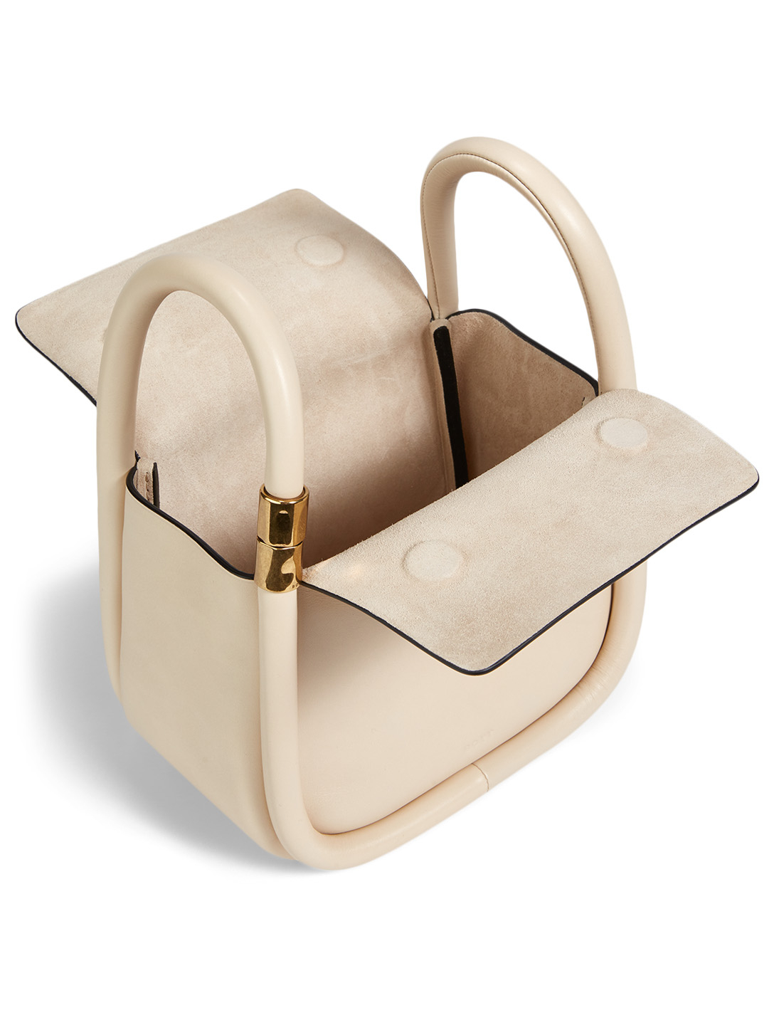 BOYY Wonton 20 Leather Bag Women's White