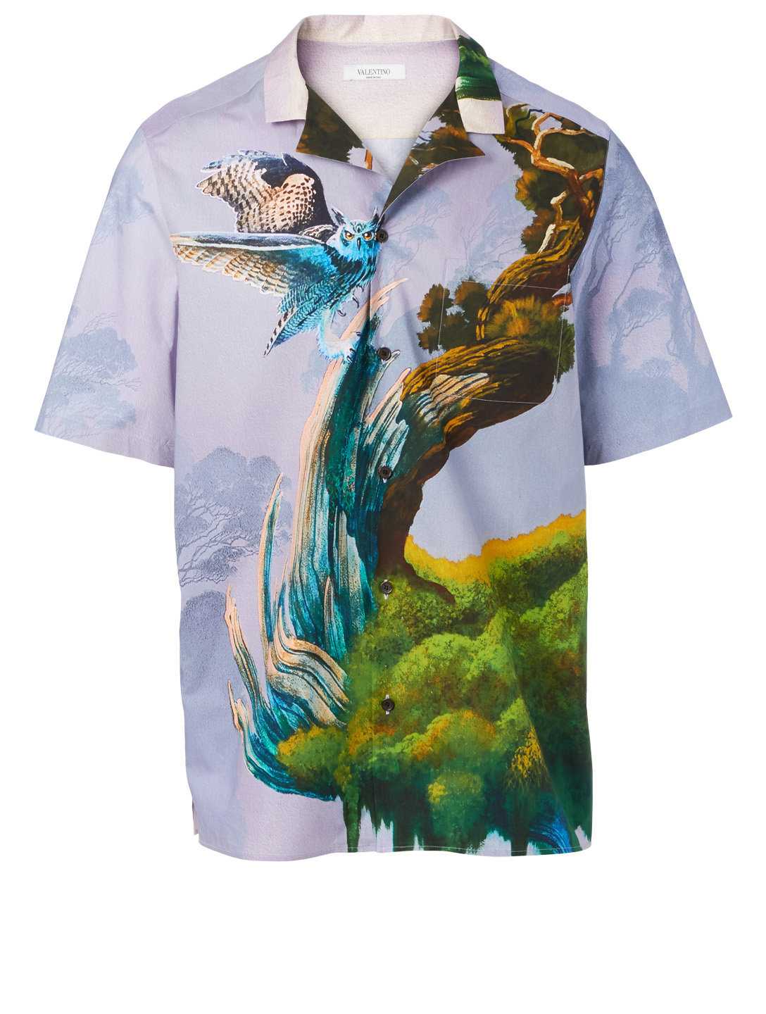 VALENTINO Blind Owl Short-Sleeve Shirt Men's Multi