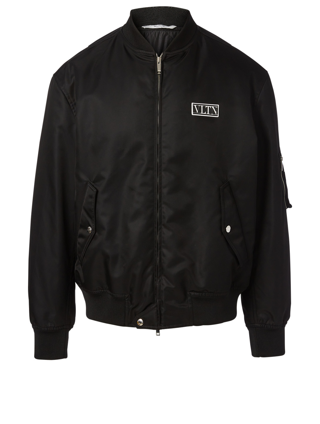 VALENTINO Bomber Jacket With VLTN Tag Men's Black