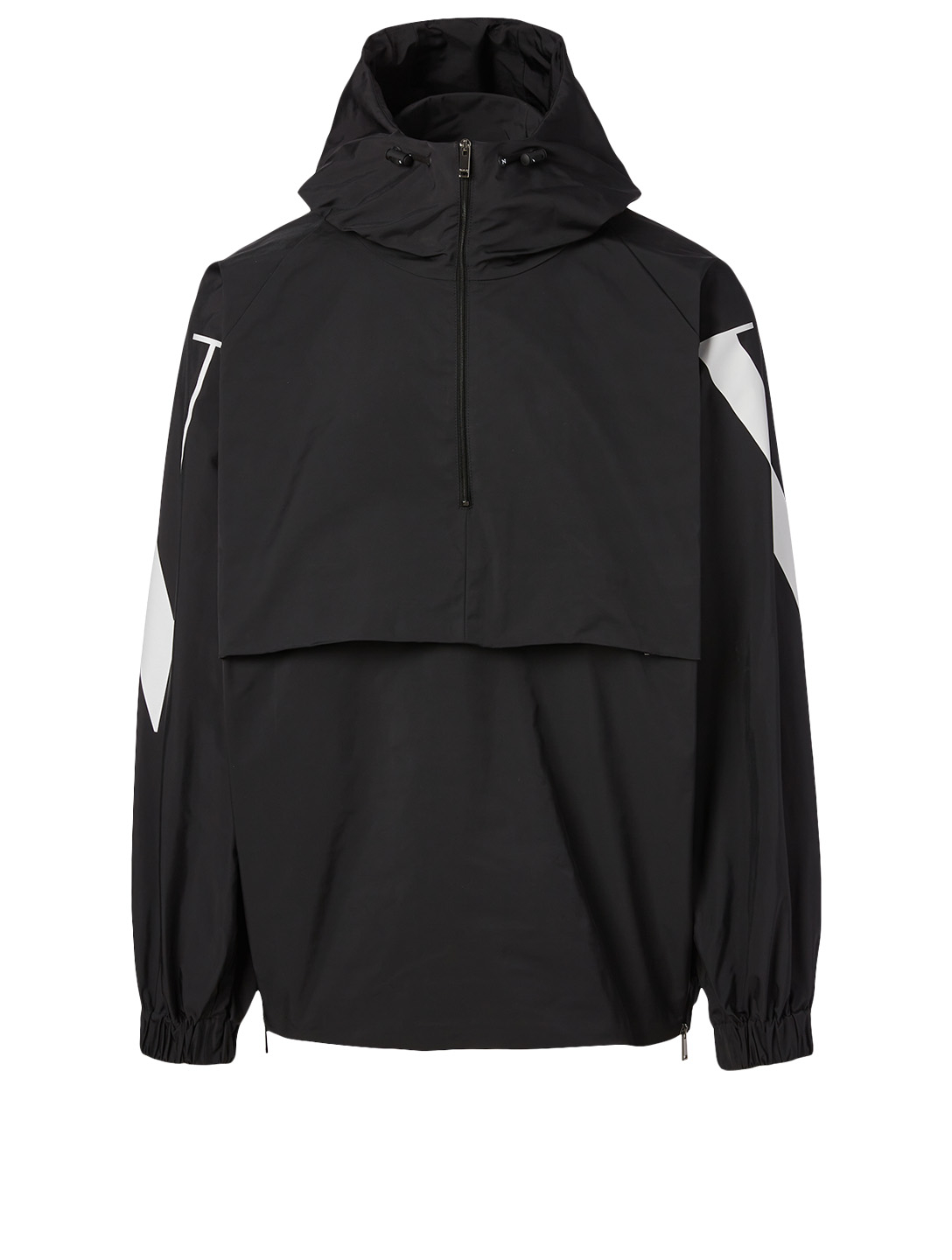 VALENTINO Zip Pullover Jacket With VLTN Logo Men's Multi