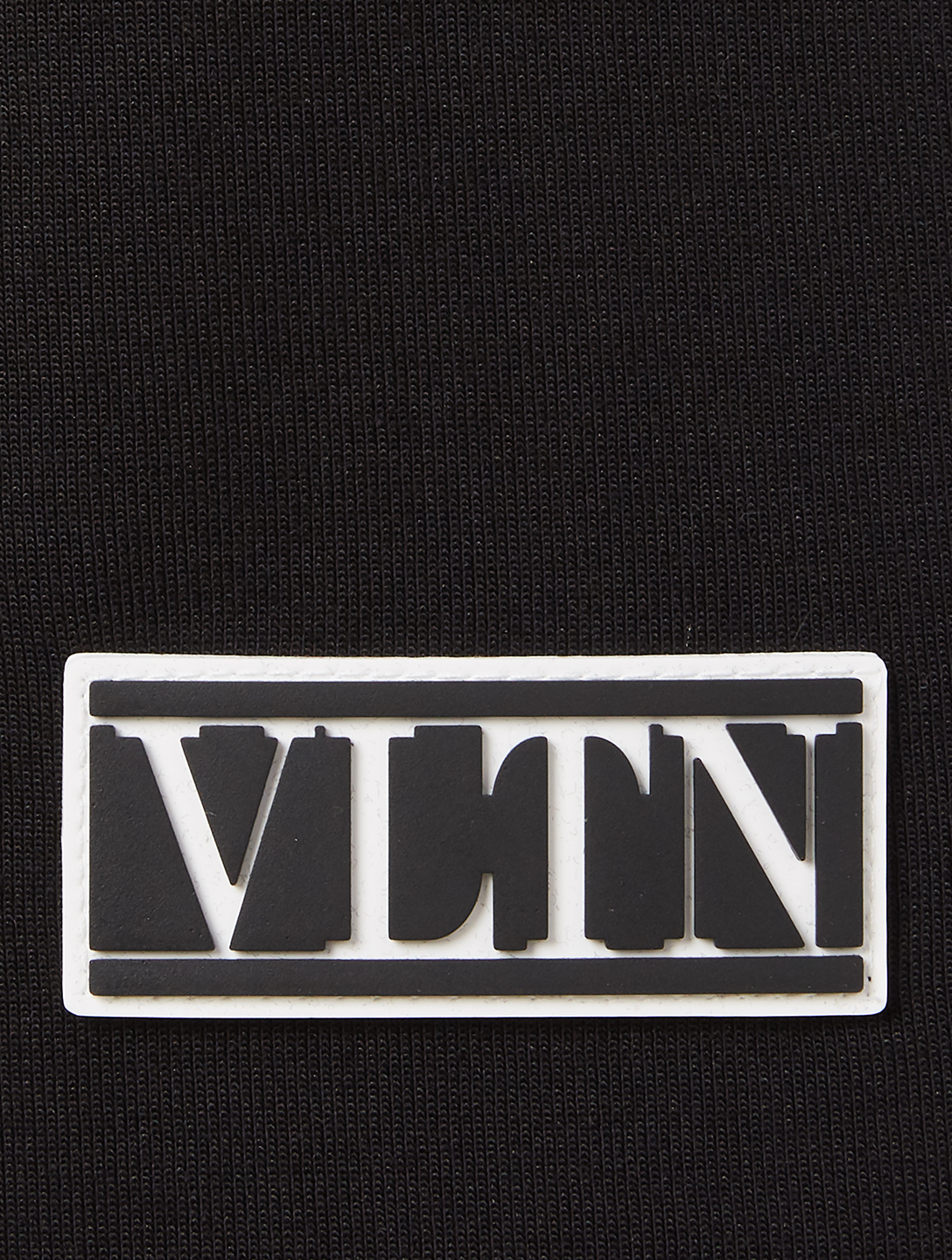 VALENTINO Bermuda Shorts With VLTN Tag Men's Black