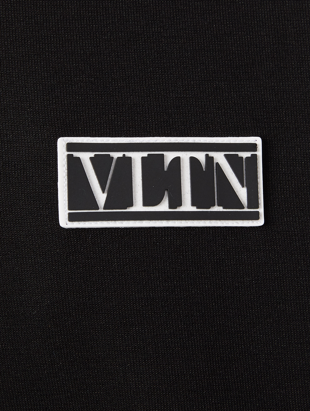 VALENTINO Cotton-Blend Sweatshirt With VLTN Tag Men's Black