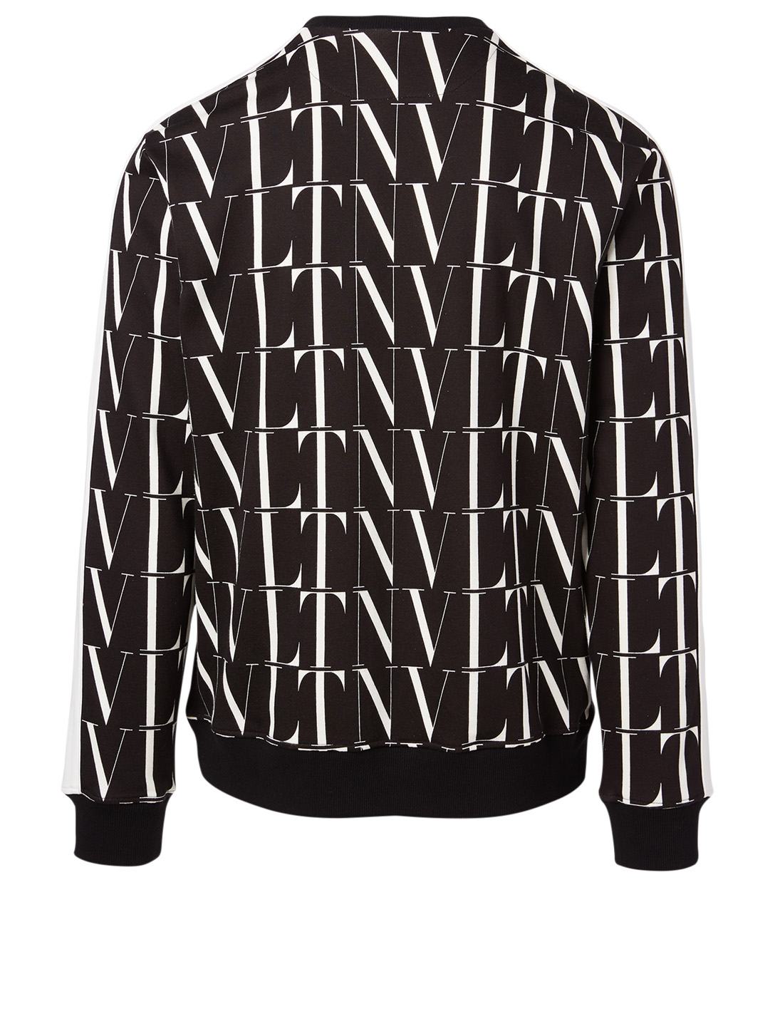 VALENTINO Cotton-Blend Sweatshirt In VLTN Print Men's Multi