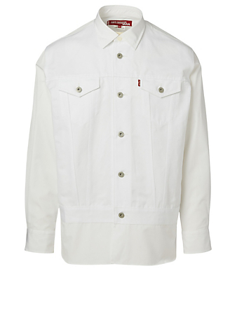 JUNYA WATANABE Levi's Cotton And Linen Jacket Men's White
