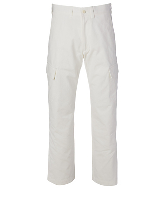 JUNYA WATANABE Cotton Cargo Pants Men's White