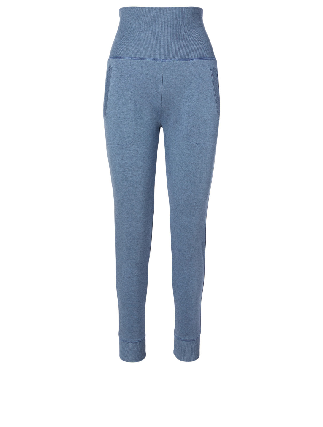 BEYOND YOGA Fleece Foldover Sweatpants Women's Blue