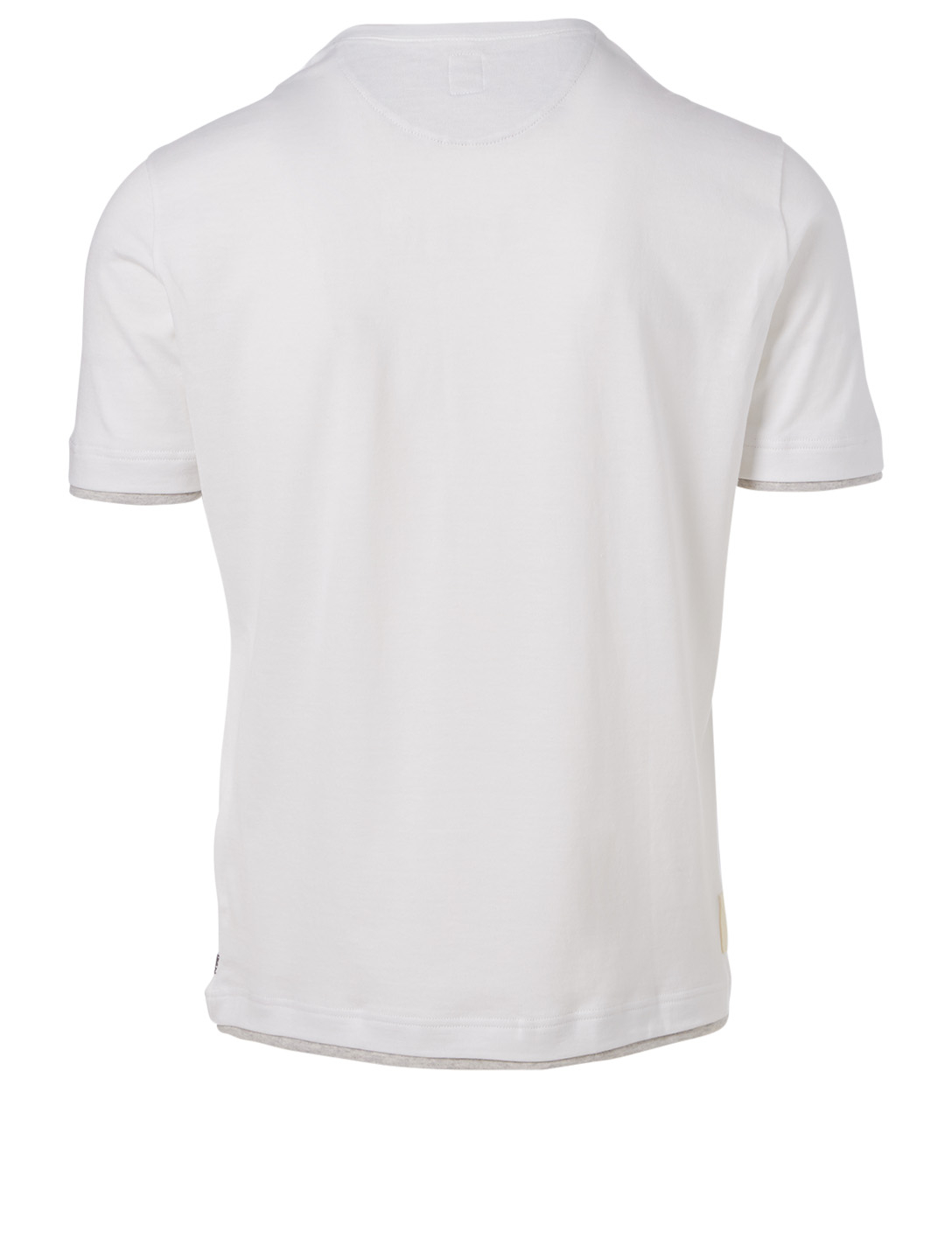 ELEVENTY Cotton Logo T-Shirt Men's White