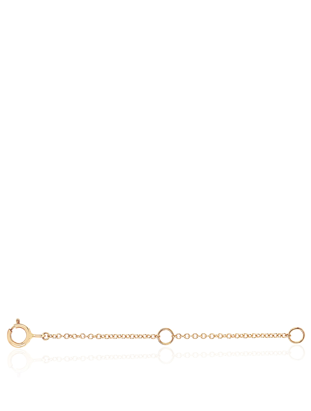 EF COLLECTION 14K Gold Chain Extender Women's Metallic