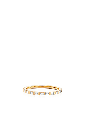 EF COLLECTION 14K Gold Eternity Ring With Diamonds Women's Metallic