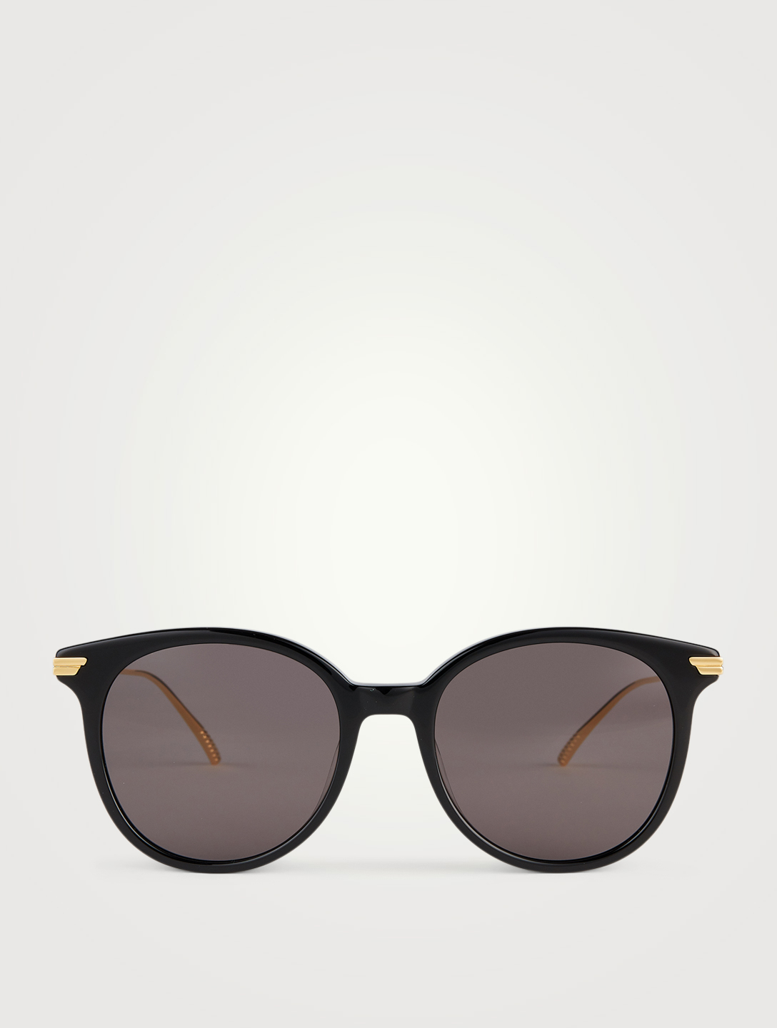 BOTTEGA VENETA Round Sunglasses Women's Black