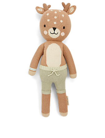 CUDDLE+KIND Elliott The Fawn Knit Doll H Project Multi
