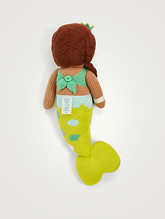CUDDLE+KIND Pearl The Mermaid Knit Doll H Project Multi