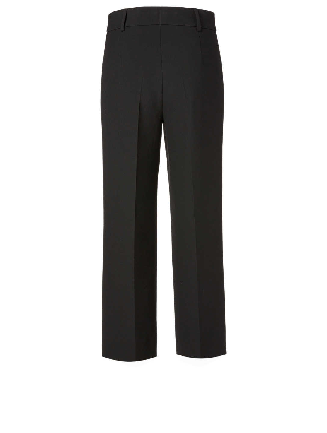 AKRIS PUNTO Pebble Crepe Cropped Pants Women's Black