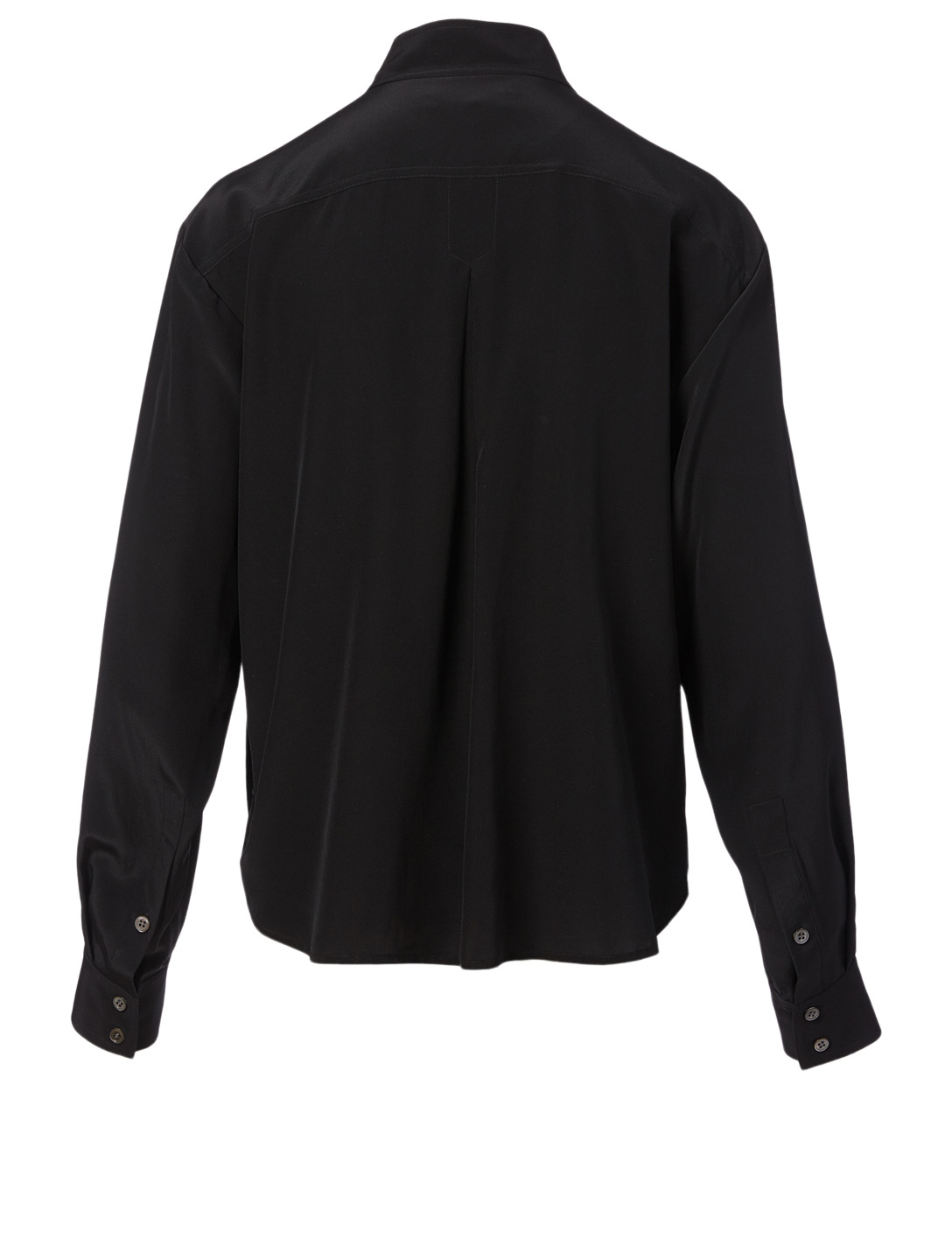 FRAME Safari Silk Shirt Women's Black