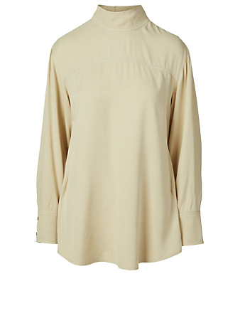 REJINA PYO Allie Reversible Blouse Women's White