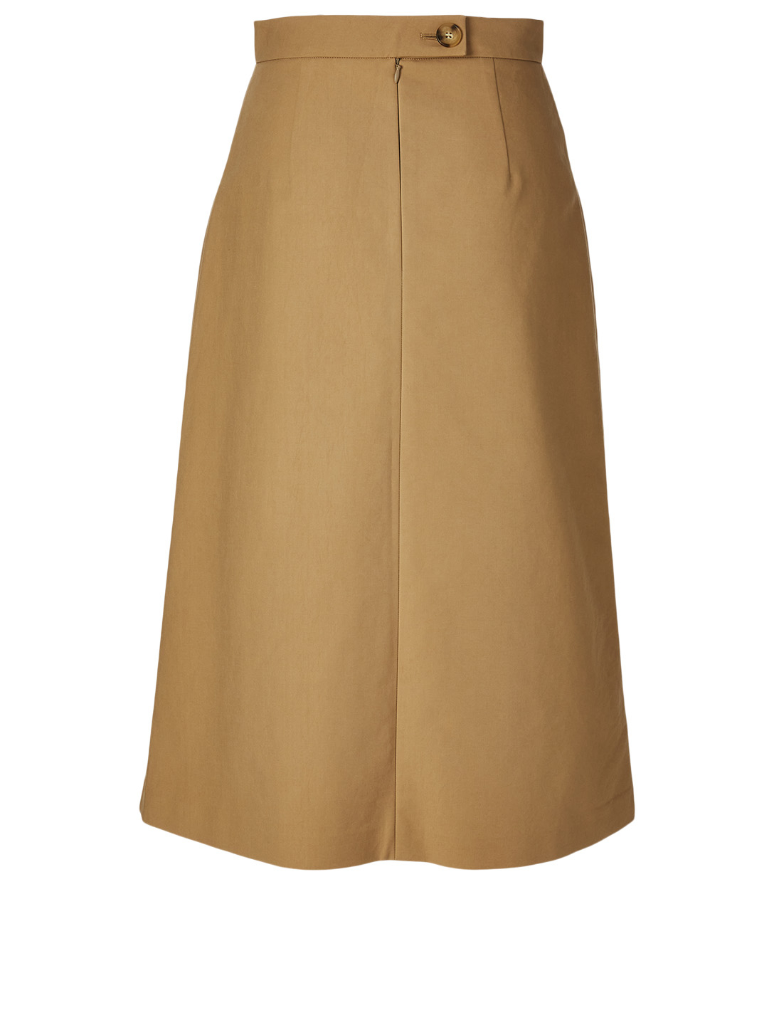 REJINA PYO Hazel Cotton Midi Skirt Women's Beige