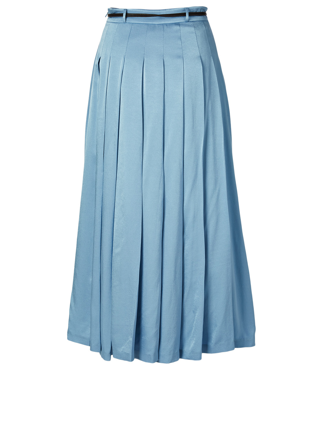 REJINA PYO Malia Midi Skirt With Belt Women's Blue