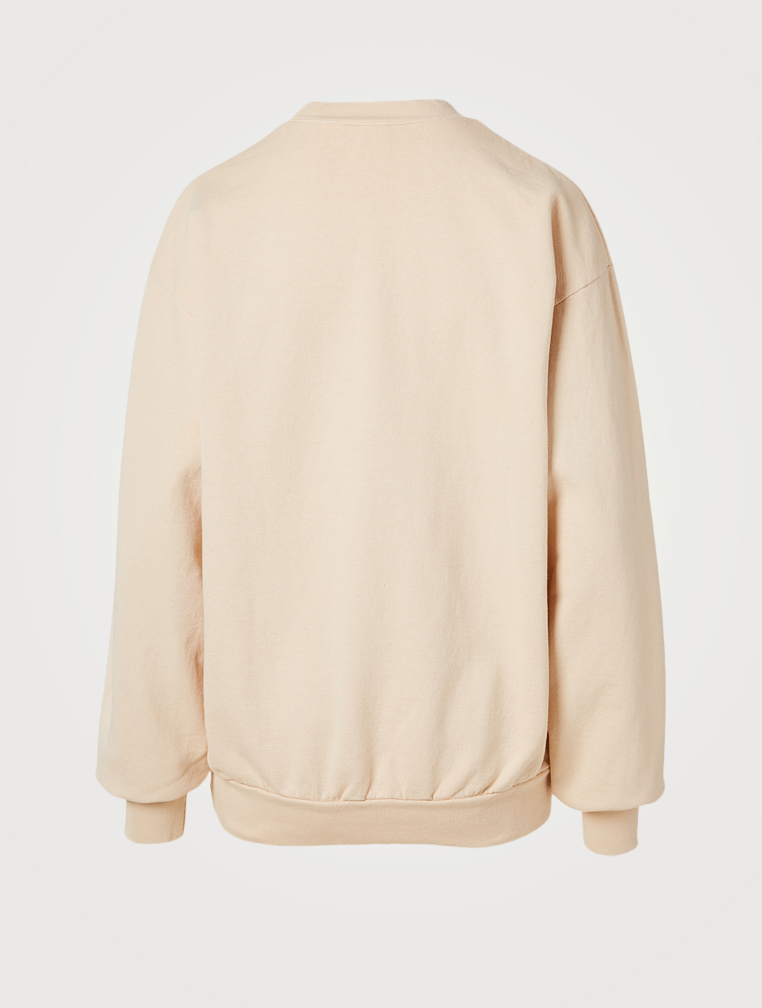SPORTY & RICH Wellness Oversized Sweatshirt Women's Beige