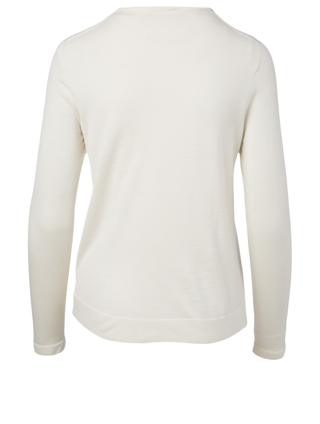 AKRIS Cashmere And Silk Knit Top Women's White