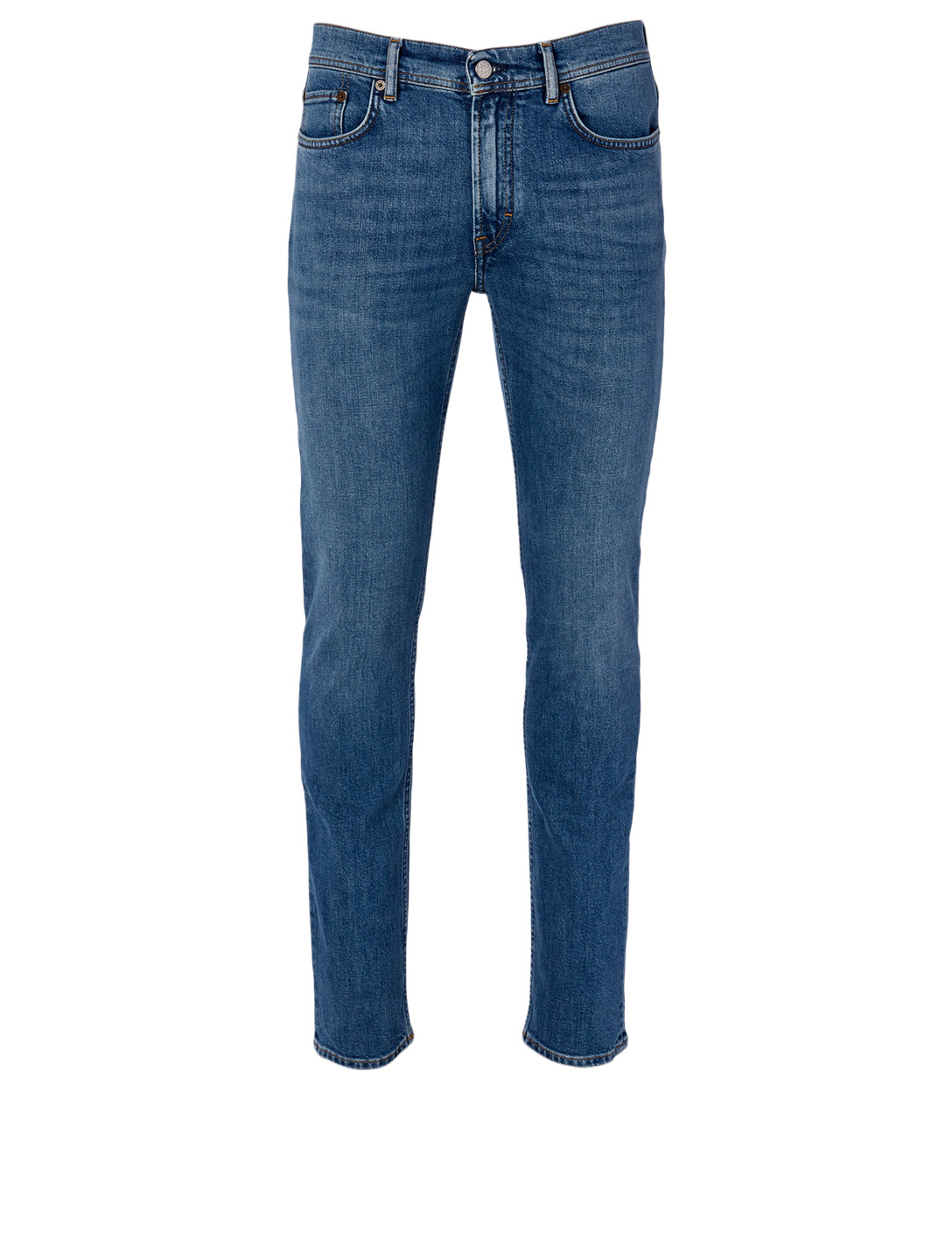 ACNE STUDIOS Cotton Stretch Skinny Jeans Men's Blue