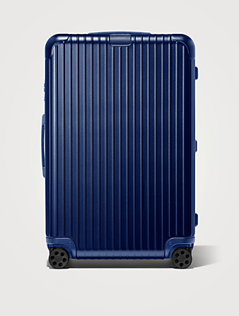 RIMOWA Large Essential Suitcase Luggage Blue