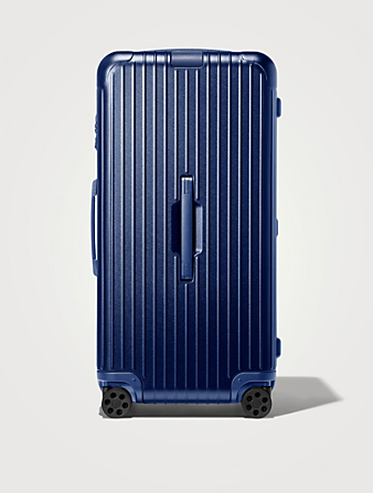 RIMOWA Essential Trunk Plus Suitcase Luggage Blue