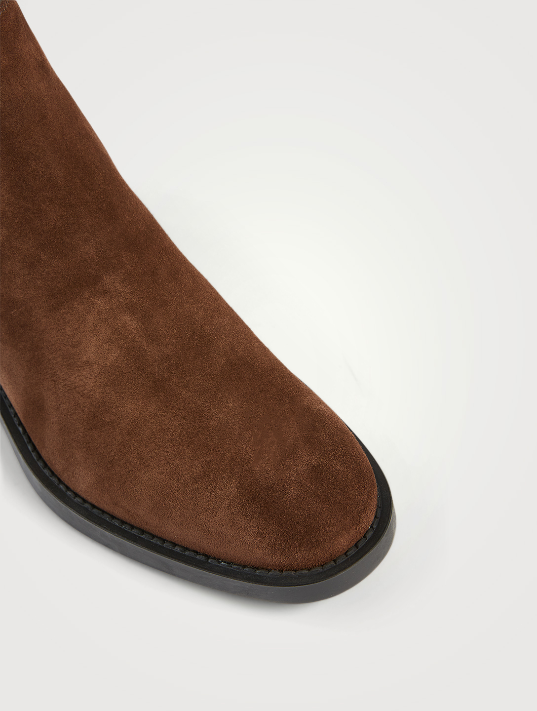 TOD'S Suede Chelsea Boots Women's Brown