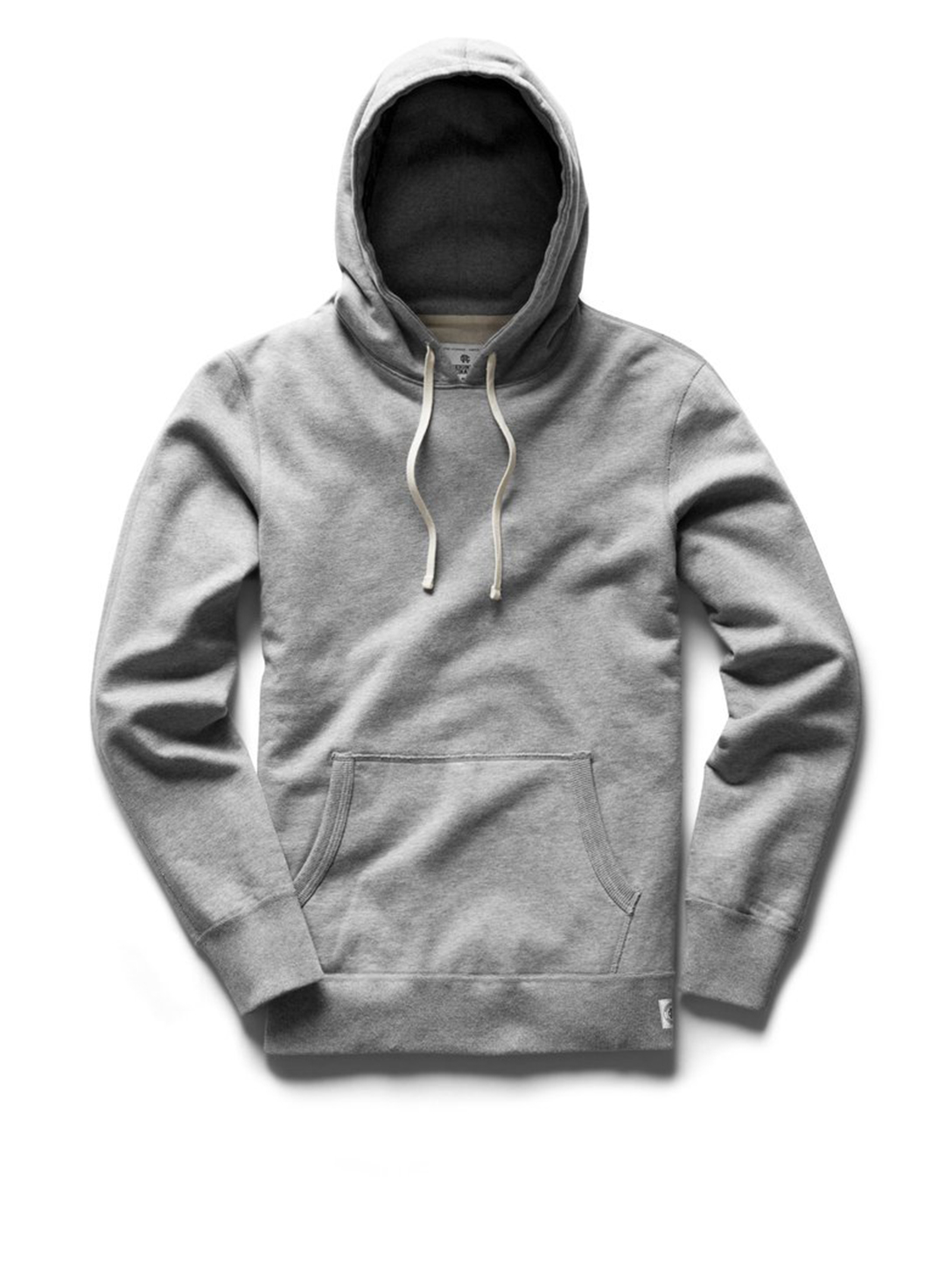 REIGNING CHAMP Terry Cotton Hoodie Men's Grey