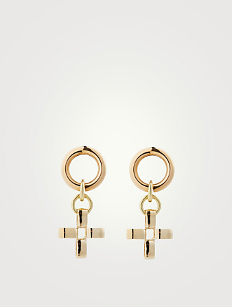 LAURA LOMBARDI Fiore Earrings Women's Metallic