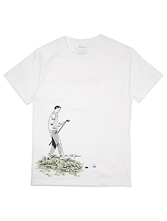 ARTGANG Tee-shirt On The Green en coton Hommes Blanc