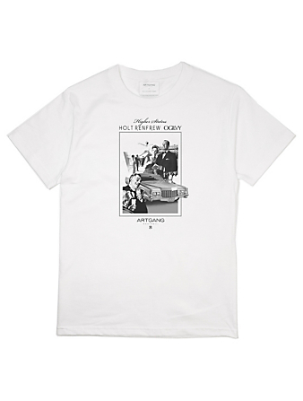 ARTGANG Higher Status Cotton T-Shirt Men's White