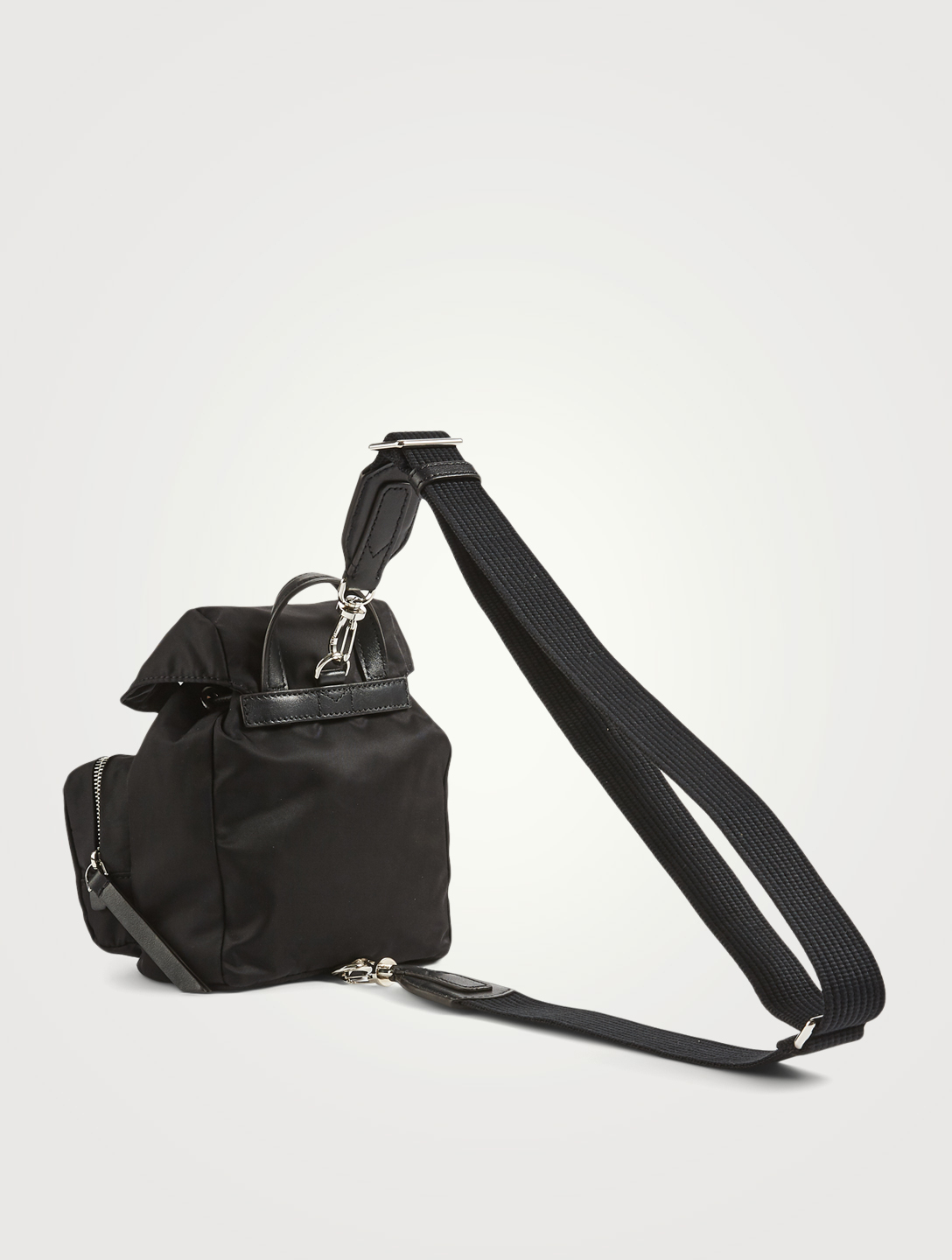 MONCLER Mini Dauphine Nylon Crossbody Bag Women's Black
