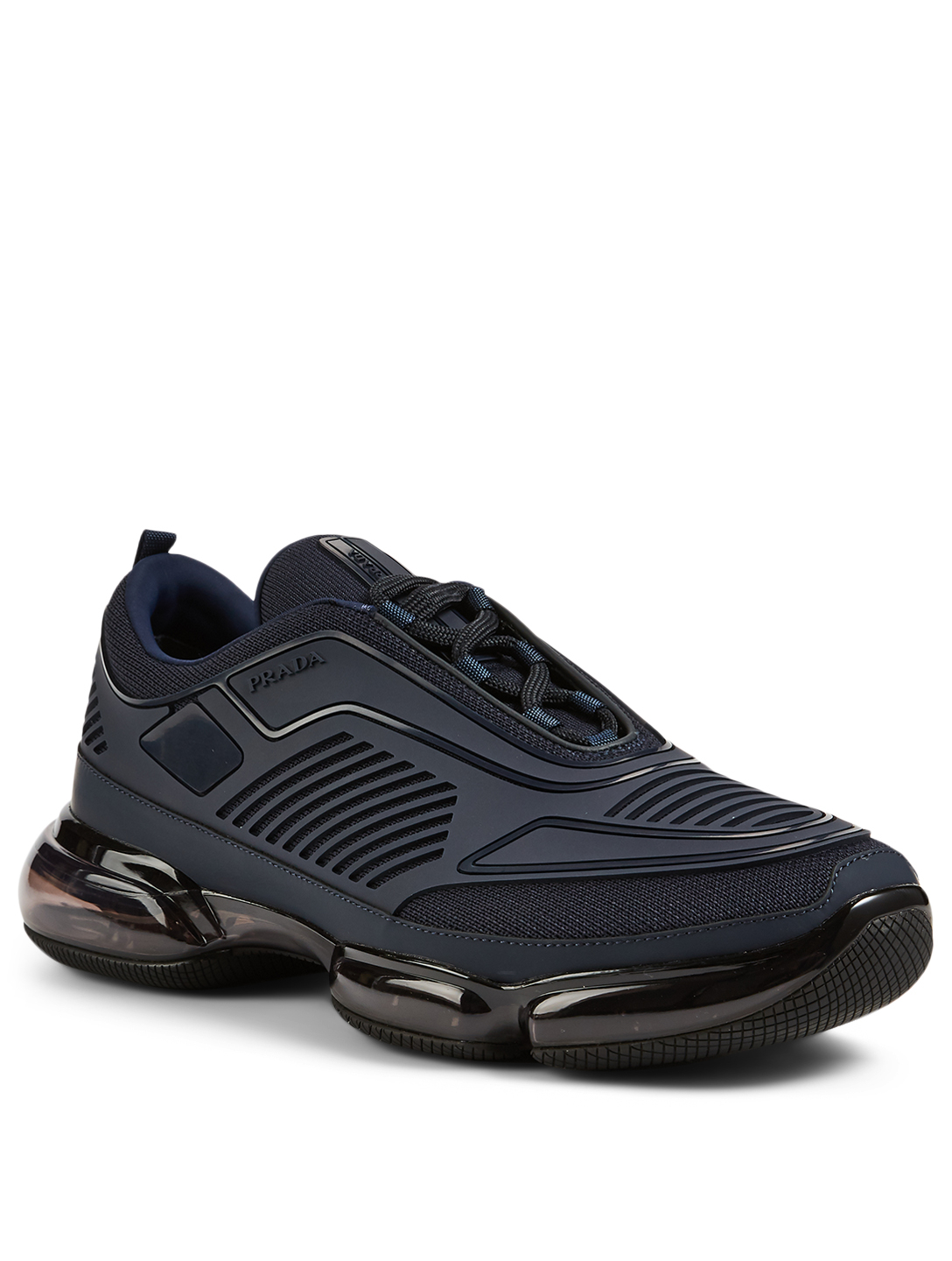 PRADA Sneakers en tissu Cloudbust Air Technical Hommes Bleu