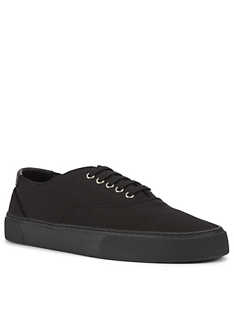 SAINT LAURENT Venice Canvas Sneakers Men's Black