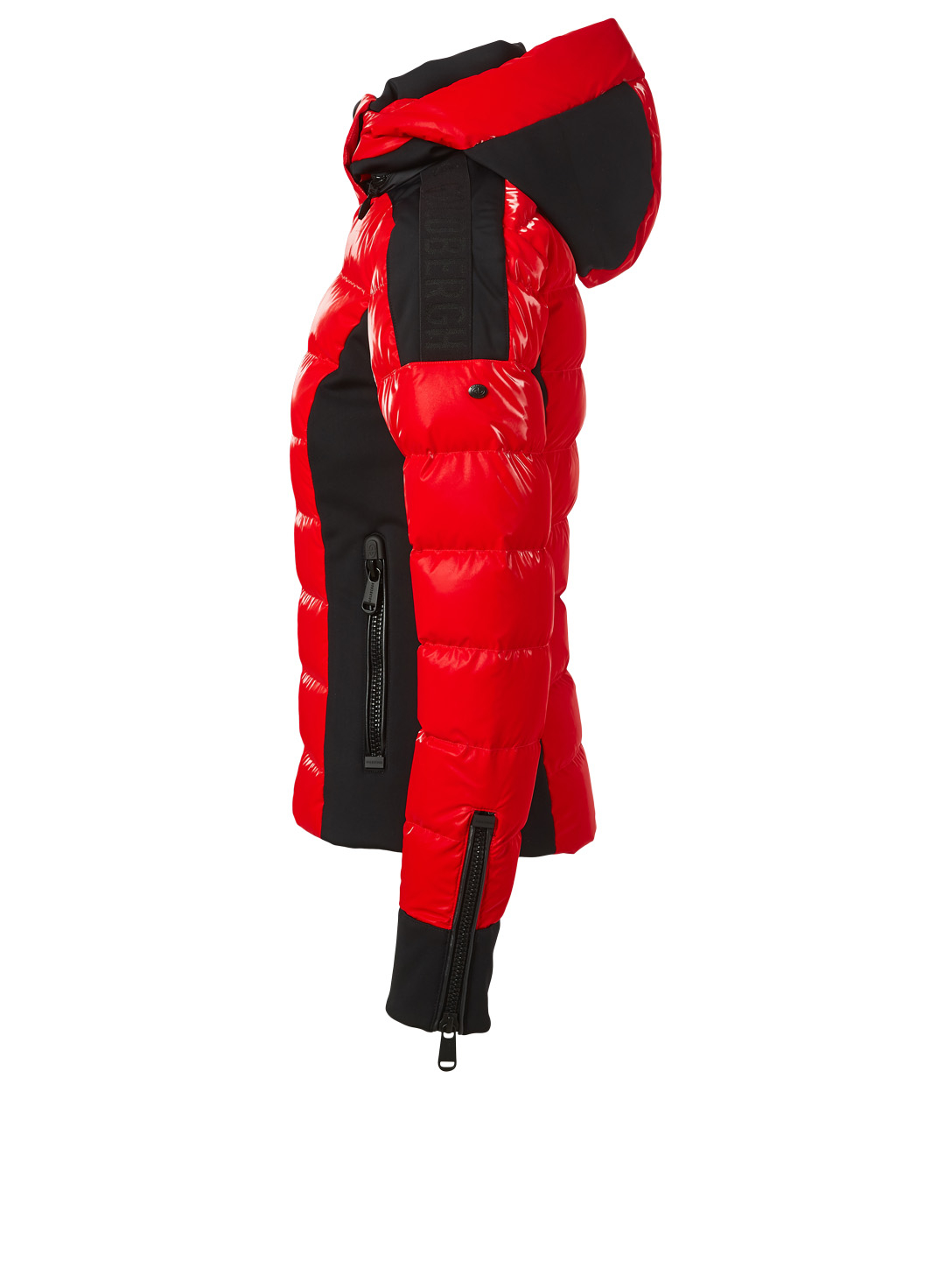 GOLDBERGH Strong High-Gloss Down Jacket With Hood Women's Red