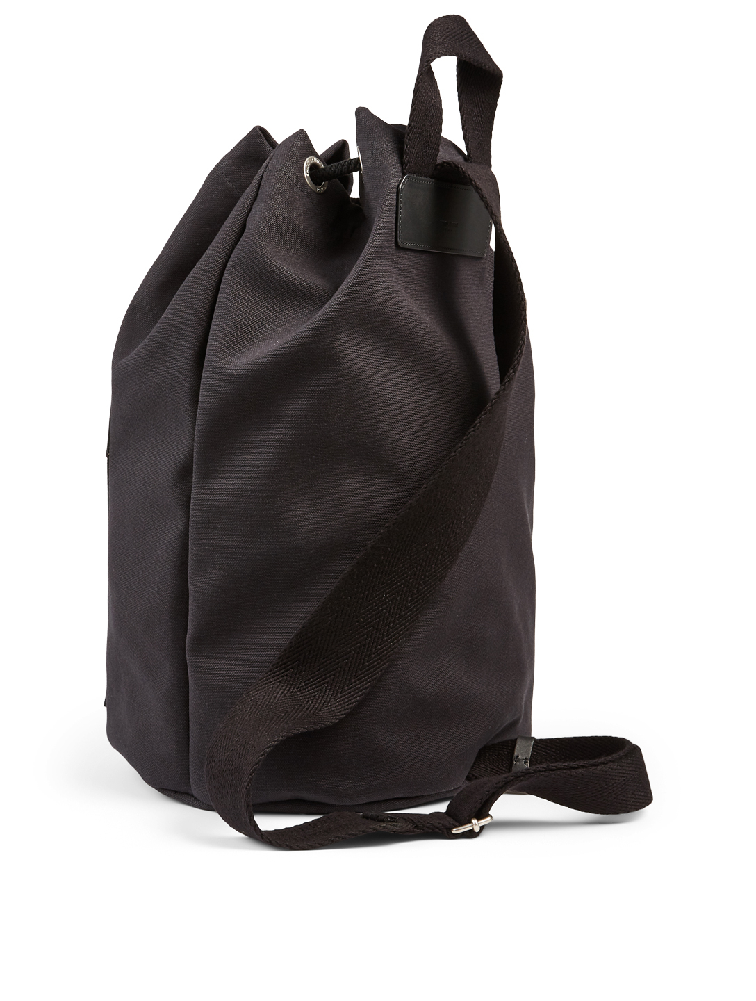 SAINT LAURENT City Sailor Canvas Backpack Men's Black