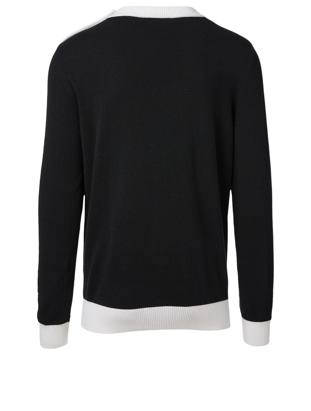 BALMAIN Wool And Cashmere Logo Sweater Men's Multi