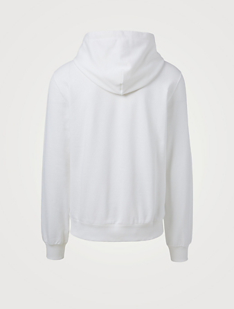 DOLCE & GABBANA Cotton Long-Sleeve Hoodie Men's White