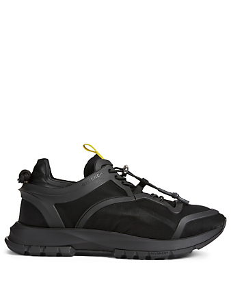 GIVENCHY Spectre Structured Nylon Runner Sneakers Men's Black
