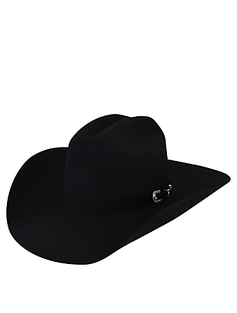 BAILEY McQ Angora Wool Western Hat Women's Black