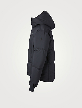 MONCLER GRENOBLE Planaval Down Field Jacket With Hood Men's Black