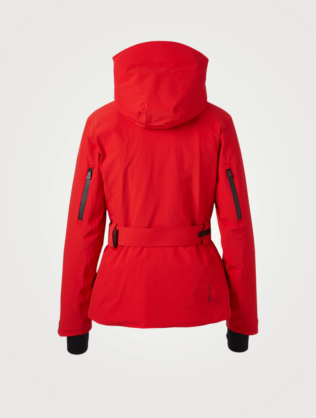 MONCLER GRENOBLE Surier Down Jacket With Belt Women's Red