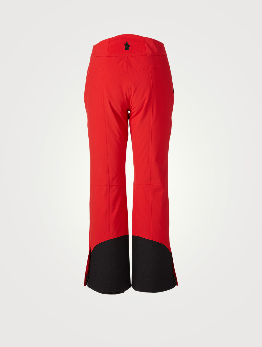 MONCLER GRENOBLE Flared Snow Pants Women's Red
