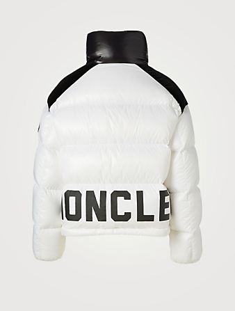 MONCLER Chouelle Quilted Down Jacket Women's White