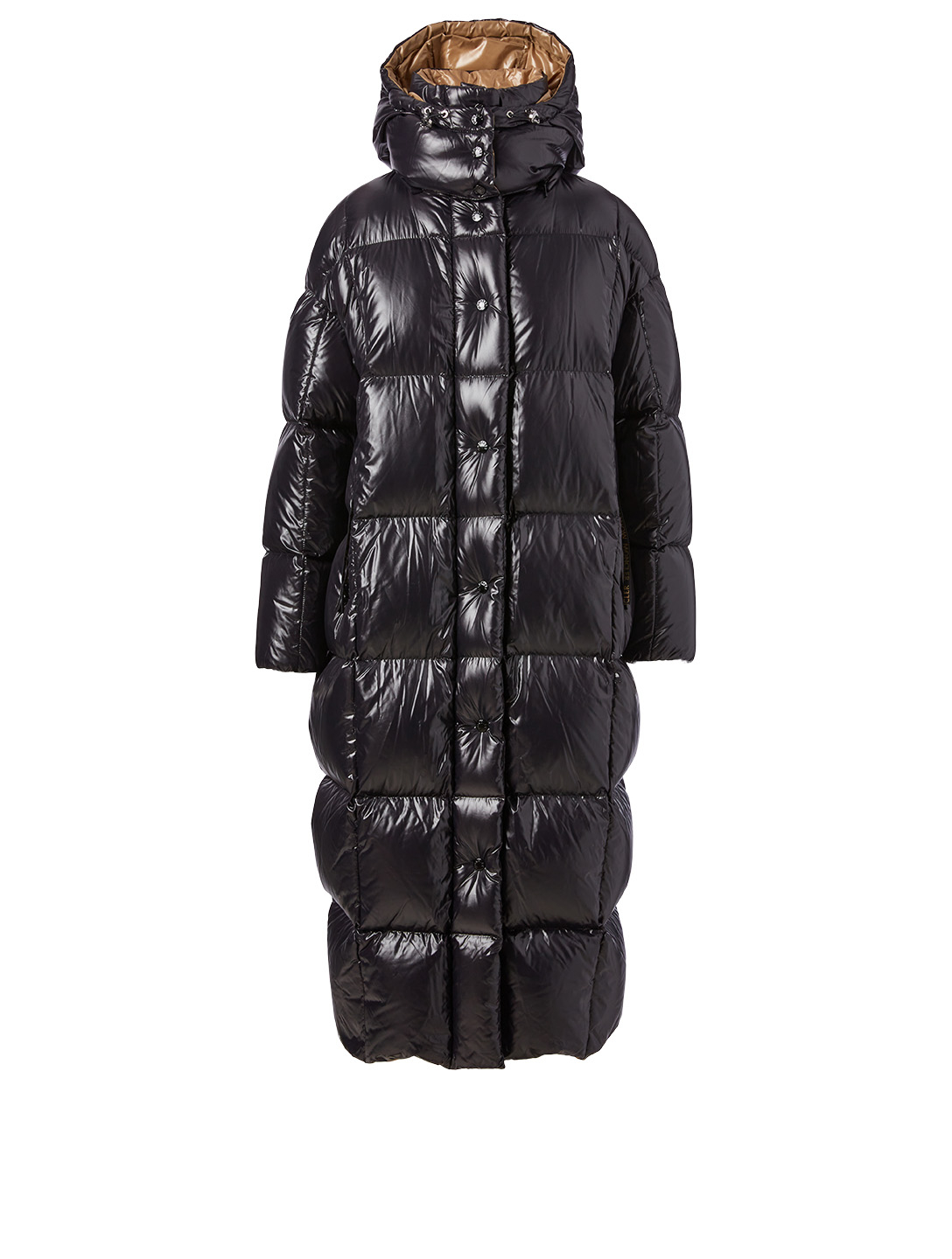 MONCLER Parnaiba Long Down Coat Women's Black