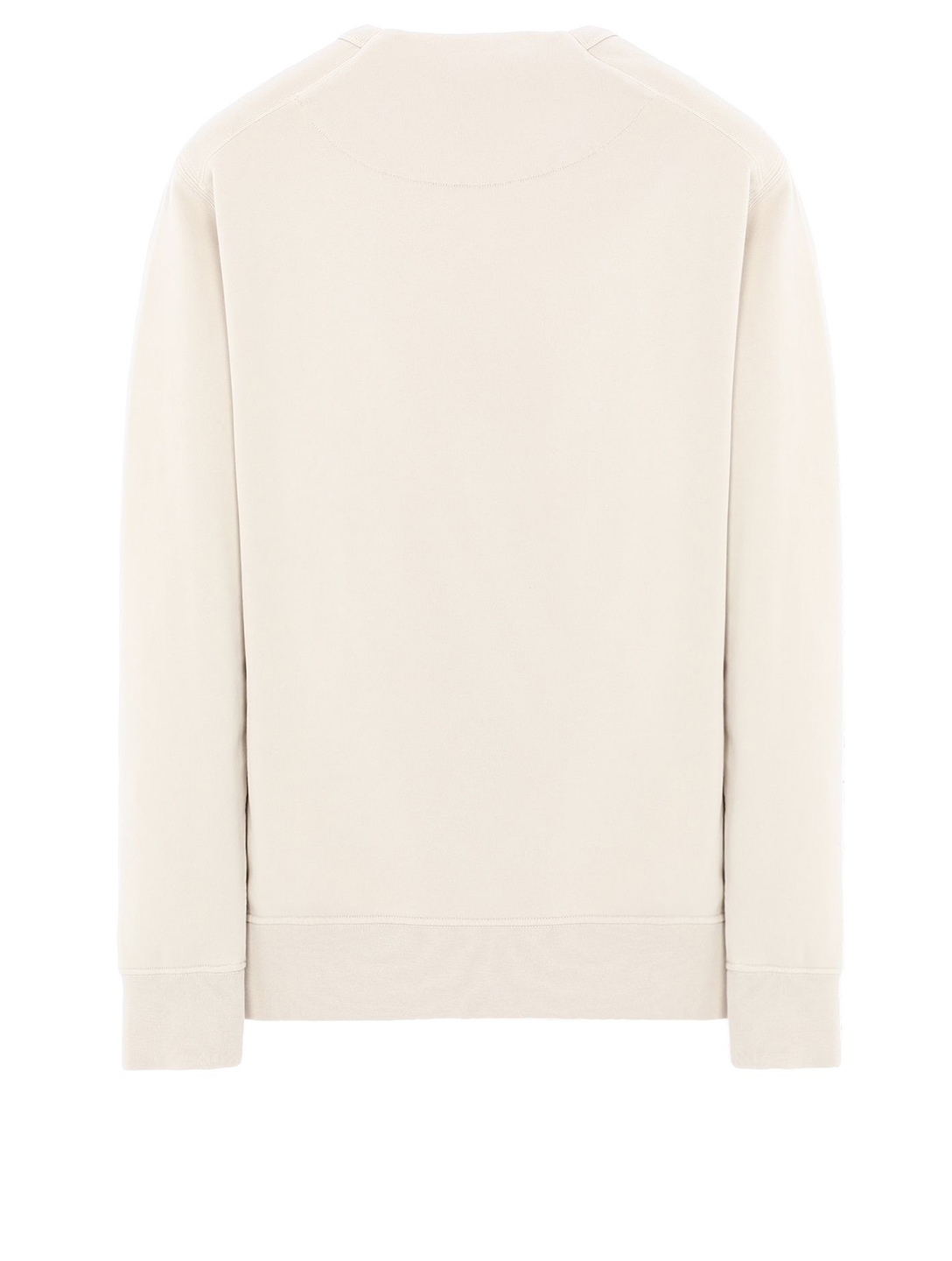 STONE ISLAND Cotton Fleece Sweater Men's Beige