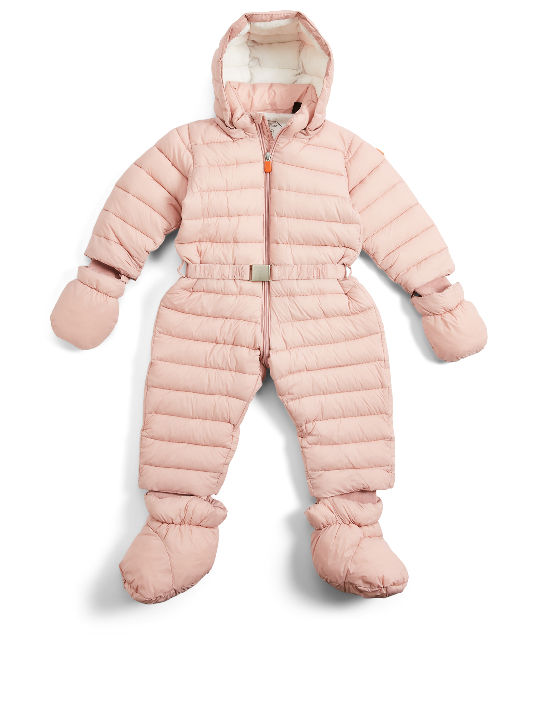 SAVE THE DUCK Baby Giga Hooded Puffer Onesie H Project Pink