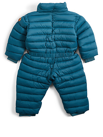 SAVE THE DUCK Baby Giga Hooded Puffer Onesie H Project Blue